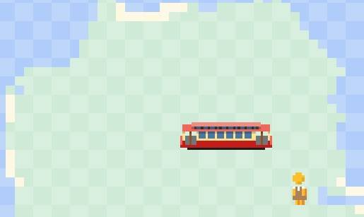 Play Snake (with trains) on Google Maps