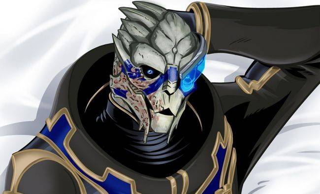 Garrus body pillows are now a real thing