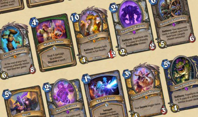 Watch the final Hearthstone: Rise of Shadows card reveal livestream here