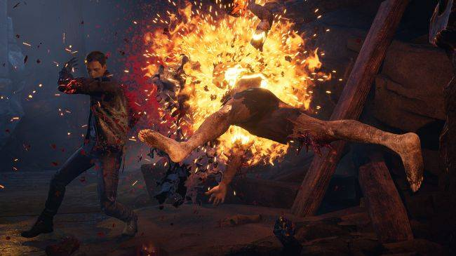 See a demon get murdered with its own horn in this Devil's Hunt gameplay video from PAX