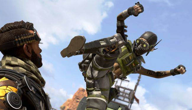 Watch the Borderlands intro remade with Apex Legends characters