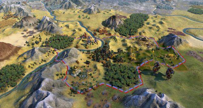Civilization 6 art director releases a mod that makes it look like Civilization 5