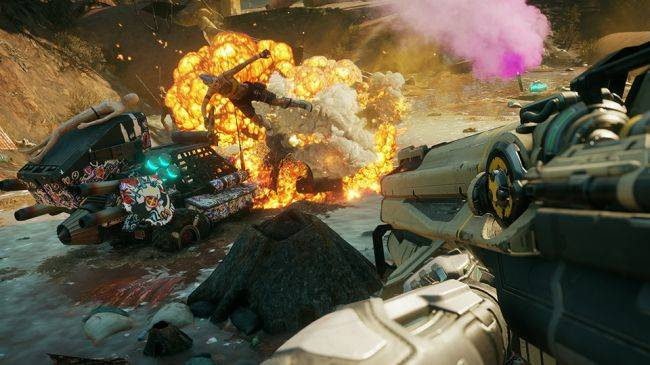 Rage 2 abilities video creatively kills about 38 goons