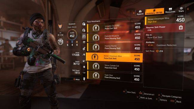 The Division 2's low-level mods are better than than endgame loot
