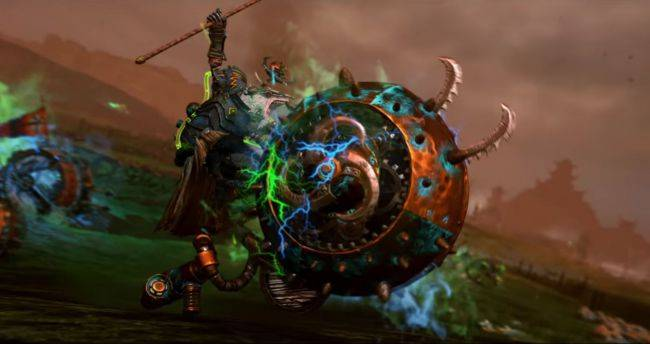 See Total War: Warhammer 2's new doom flayers in action