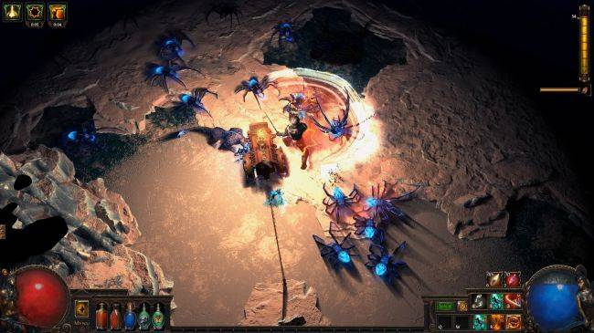 Path of Exile will address 'clunky' melee combat in next expansion.