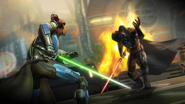 Star Wars: The Old Republic is getting a free expansion called Onslaught in September