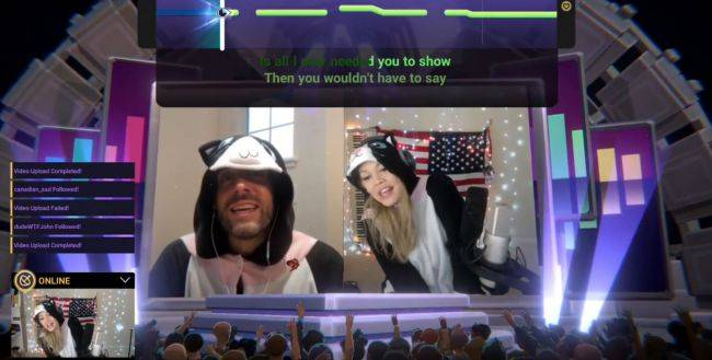 Livestream karaoke game Twitch Sings is out now