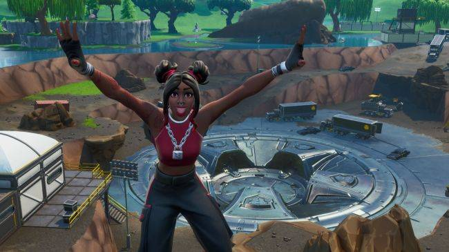 A massive vault has been unearthed beneath Fortnite's Loot Lake