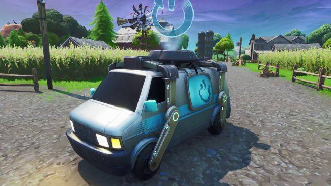 Where to find Fortnite's Reboot Vans