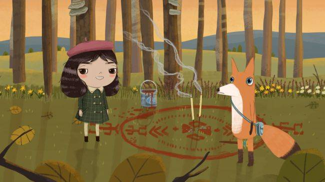 Little Misfortune is a disturbing adventure about an 8-year-old girl on a walk in the woods