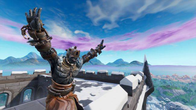Where find Fortnite's ice sculptures, dinosaurs, and hot springs for easy battle stars