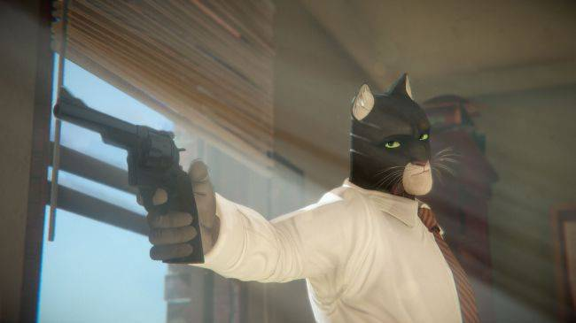 This new narrative noir adventure stars a 1950s private dick who is also a housecat