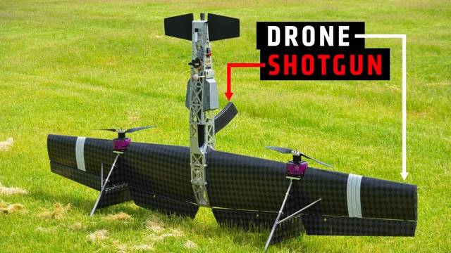 The Morning After: Shotgun-toting drones and washed-up Garfield phones