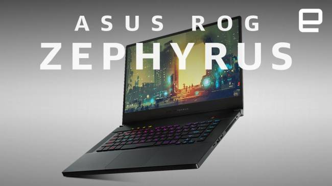 ASUS' thin Zephyrus gaming laptops get new CPUs, GPUs and sturdy cases