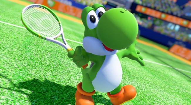 The Co-Op Challenge Mode Is Back In Mario Tennis Aces
