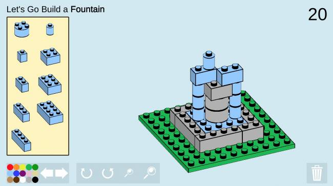 Challenge yourself to a tiny Lego build every day in this browser game