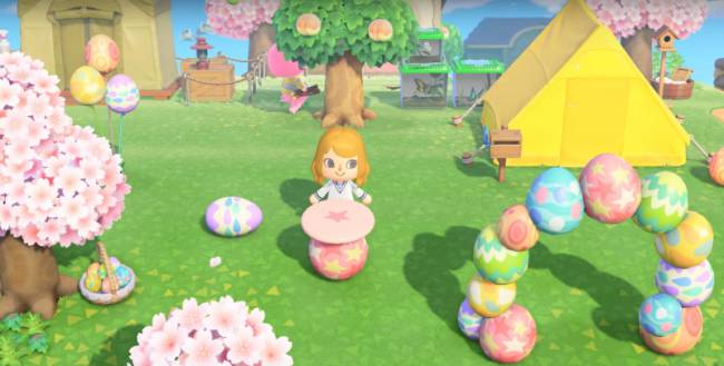 Check Out What You Can Unearth During Animal Crossing: New Horizons' Bunny Day