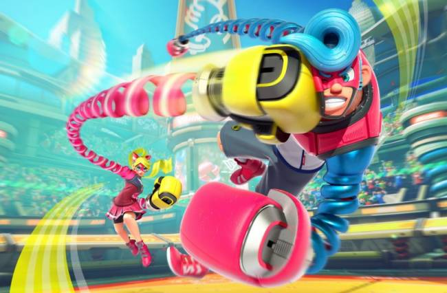 Next Super Smash Bros. Ultimate DLC Character Comes From Arms