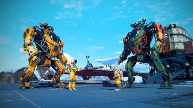 Giant Mechs Come To No Man's Sky