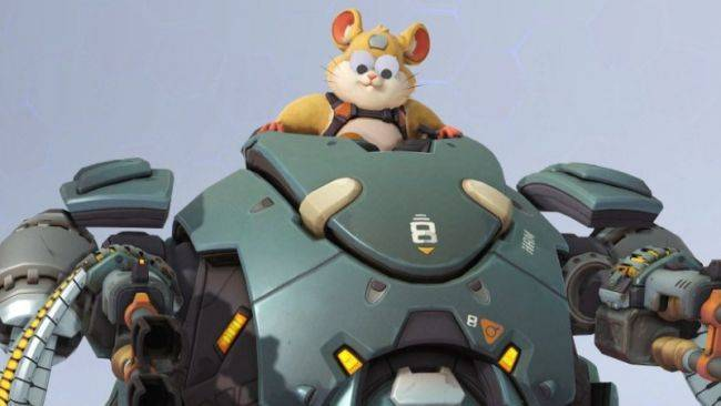 Overwatch heroes get googly eyes for April Fools' Day