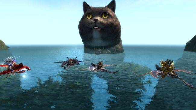 Guild Wars 2 is full of giant cats right now