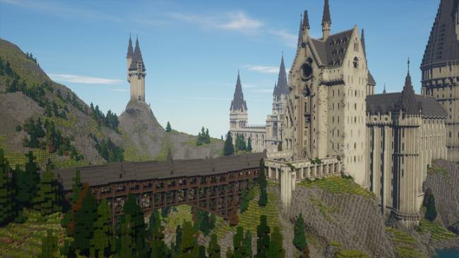 Witchcraft and Wizardry, the Minecraft Harry Potter RPG, is finished