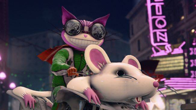 Saints Row: The Third Remastered is coming next month, and it looks great