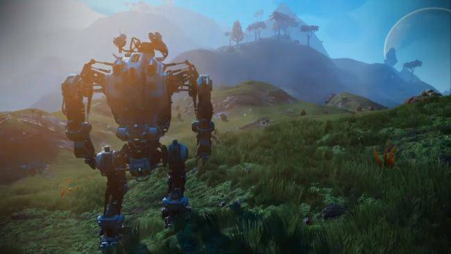 No Man's Sky is getting mechs, according to a leaked trailer