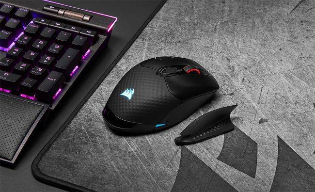Corsair claims its new wireless gaming mouse is faster than your wired one