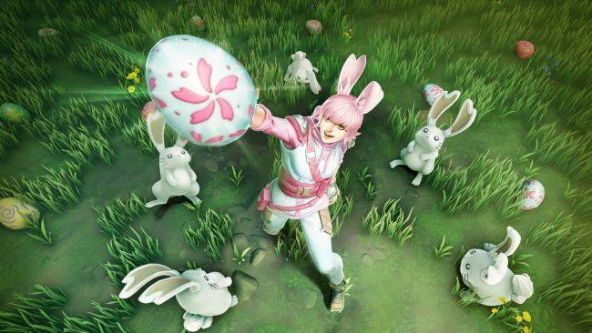 Hunt eggs, not monsters, in the Dauntless Easter event