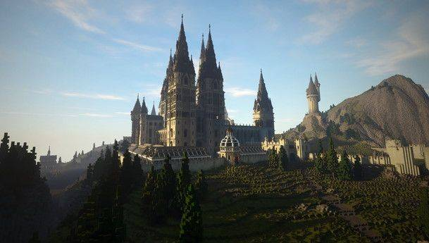 Video comparison: The Harry Potter Minecraft mod is delightfully faithful to the movies