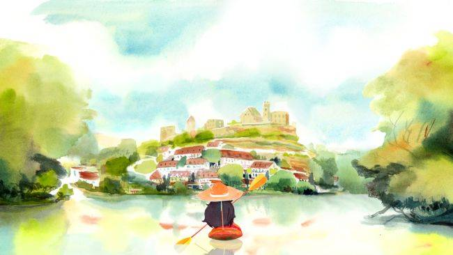 Dordogne is a promising watercolour adventure game with a stunning trailer