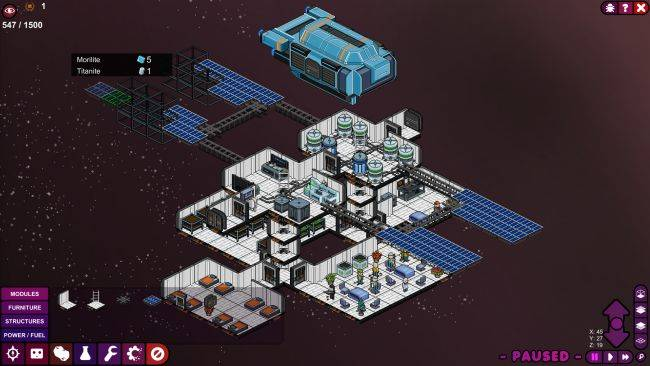 Space colony sim Meeple Station leaves Early Access