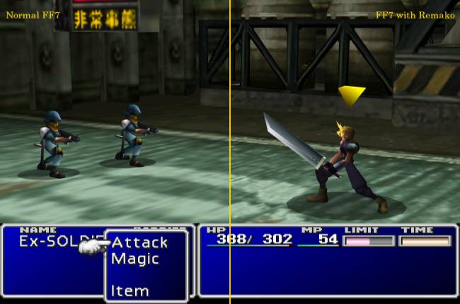 The Final Fantasy 7 Remako mod is the best way to play the original game on PC