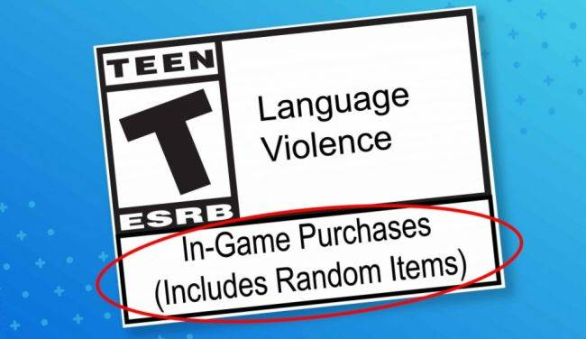 ESRB adds a new warning label for loot boxes
