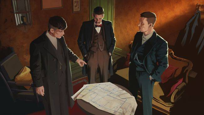 There's a Peaky Blinders tactics puzzle game on the way and it looks decent