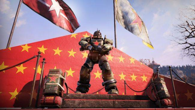 Wanderers of Fallout 76, unite! (With these communism-themed cosmetics)