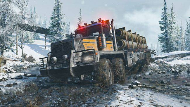 SnowRunner will have mod support, and mods, at launch