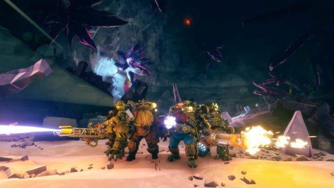 Deep Rock Galactic is digging its way out of Early Access on May 13