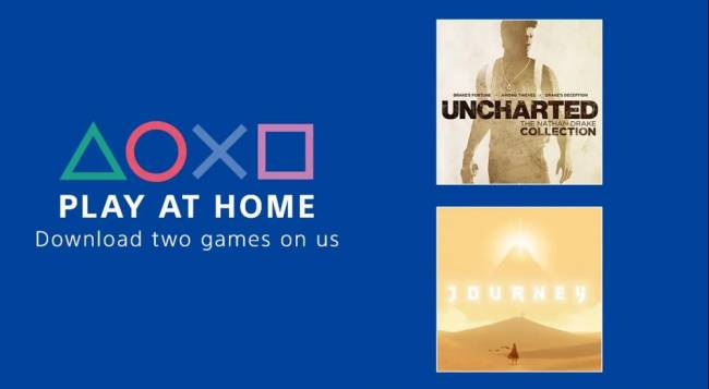 Sony Offering Uncharted and Journey - Totally Free