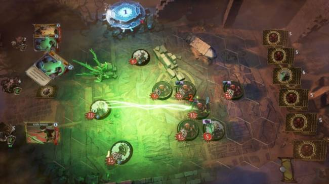 Trials of Fire, a Deck-Building Tactical Title, is Now Out of Steam's Early Access