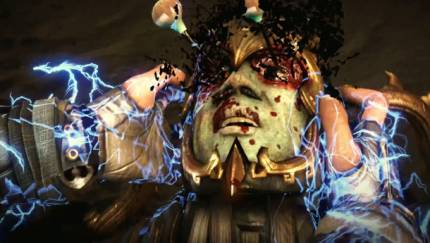 Ed Boon Shows Of Raiden's Shocking Moves