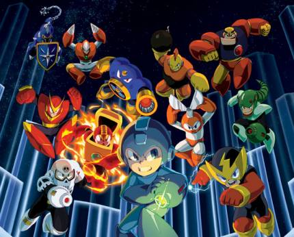 Be The Robot Master In The Mega Man Legacy Collection