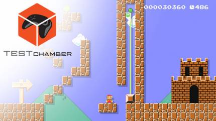 Test Chamber – Watch Us Play And Review Kyle's Terrible Super Mario Maker Levels