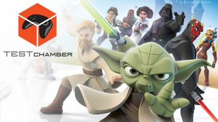 Test Chamber – Watch Us Spawn As Many Jar Jars As We Can In Disney Infinity 3.0