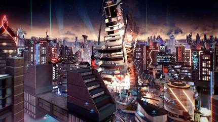 We Ruined A Cloud City In Crackdown 3's Multiplayer