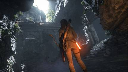 Excitement Rises In Tomb Raider's Crypts And Caverns