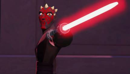 Darth Maul Stitches Himself Back Together For Disney Infinity 3.0