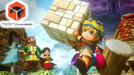 Test Chamber – How To Create A Home In Dragon Quest Builders
